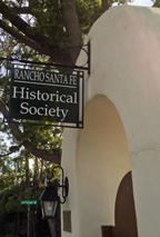 Rancho Santa Fe Historical Society Sign